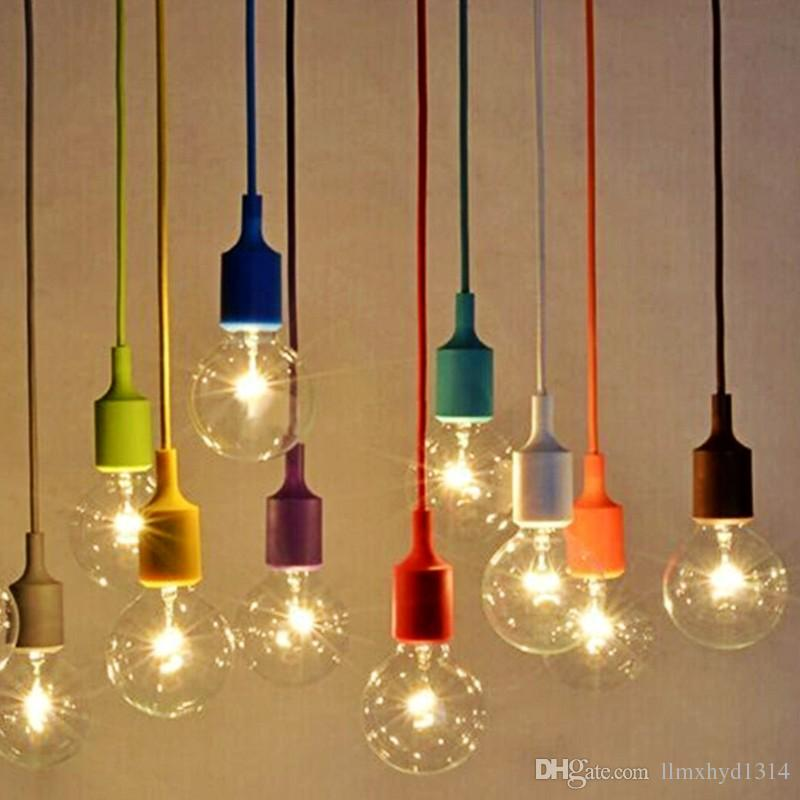 colorful chandelier lighting multicolor crystal due to the light and screen difference items color may be slightly different from pictures 2please allow 13cm differences due manual 2018 diy e27 chandelier light fixture hanging line colorful silicone