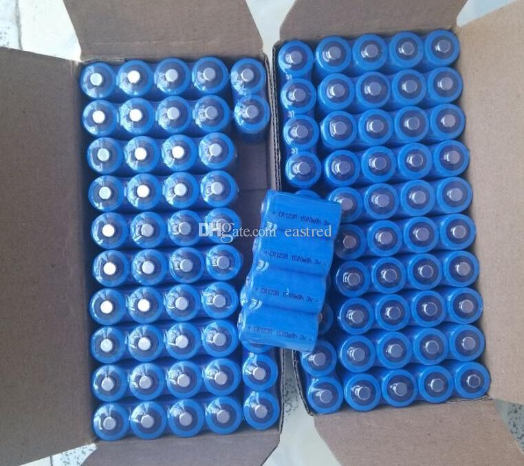 Batteria al litio non ricaricabile CR123 DL123 CR17345 foto ricaricabile al litio HOT / 3v