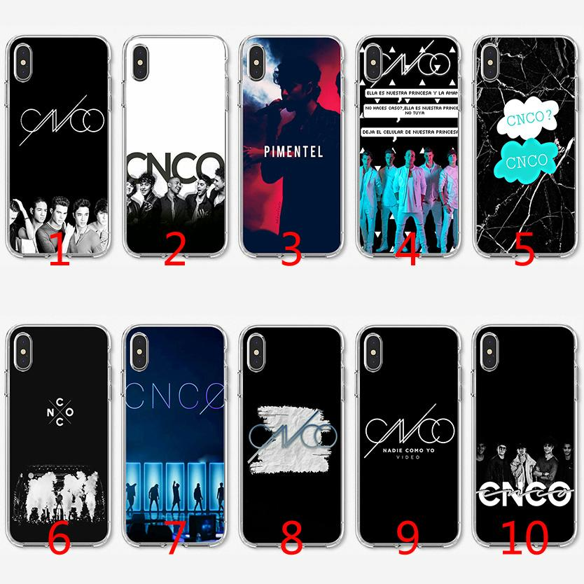 b958292e6 CNCO Bands Soft Silicone TPU Case For IPhone X XS Max XR 8 7 Plus 6 6s Plus  5 5s SE Cover Spigen Cell Phone Cases Tough Cell Phone Cases From Emmall