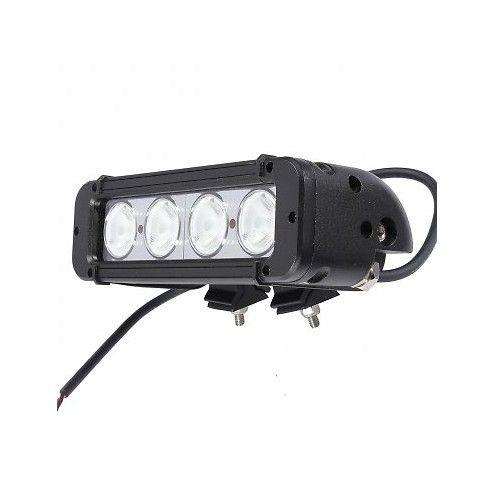 8 inch 40W Single Row LED bar 4x4 Spot Flood 10W CREE UTV LED LIGHT BAR UAZ ATV Offroad 4WD Car Fog Vehicle Lights Bars
