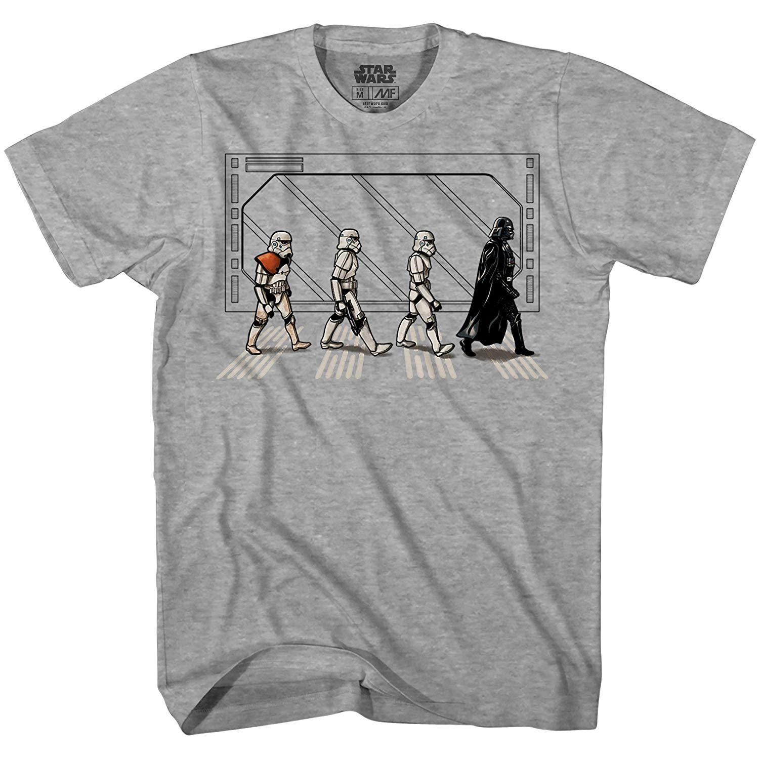 929041f976 Death Star Road Stormtrooper Crossing Mens T Shirt Mens 2018 Cheap Wholesale  Tees 100% Cotton For Man T Shirt Printing Latest Designer T Shirts Coolest  Tees ...
