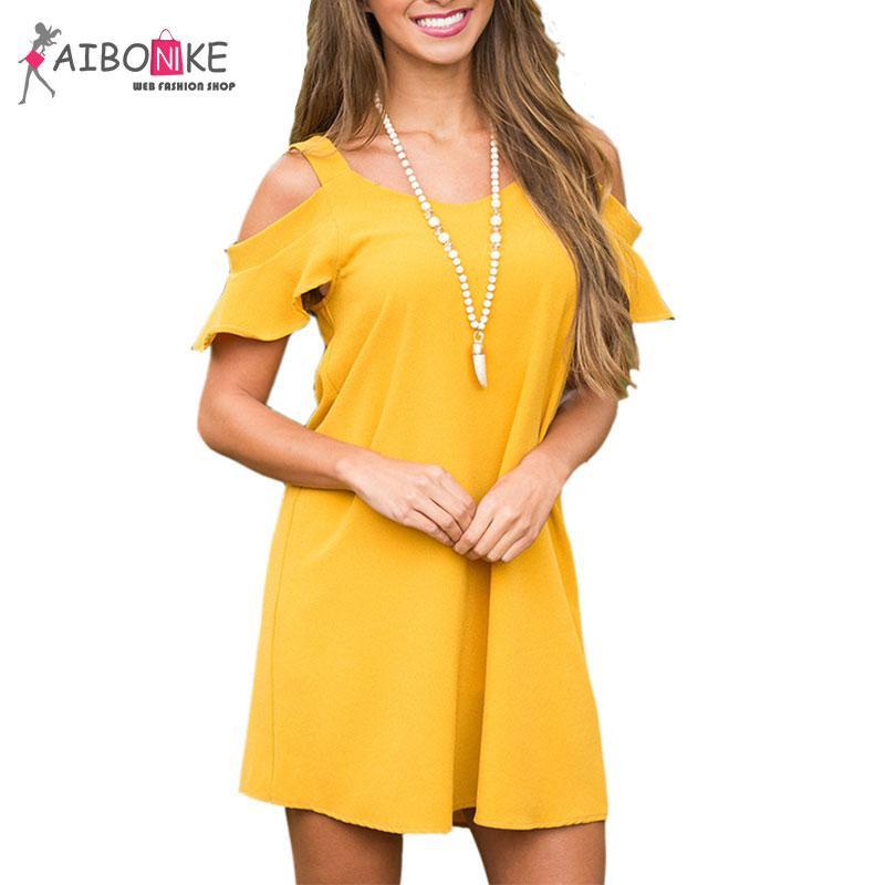 Yellow Dresses for Ladies