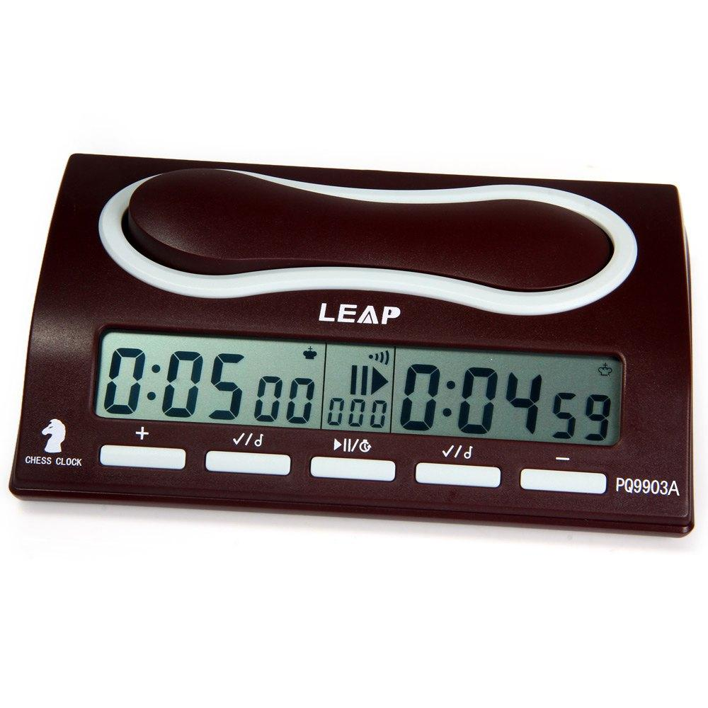 4c12cdcff4b Compre Fechaduras Relógios Especiais Multifuctional LEAP PQ9903A Relógio De Xadrez  Digital Profissional Wei Chi Contagem Up Down Chess Temporizador De ...