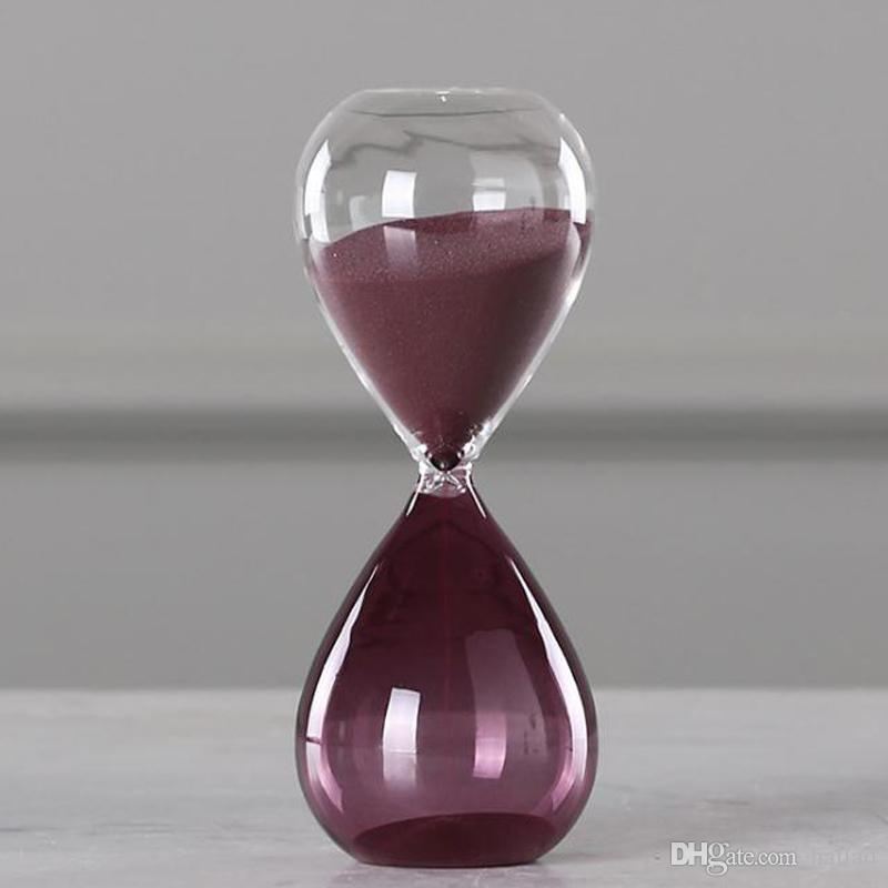 Hourglass 15 Minutes Glass Sand Watch Timer Clock Home Decoration Art  Hourglass Sand Timer Fashion Valentine s Day Gift