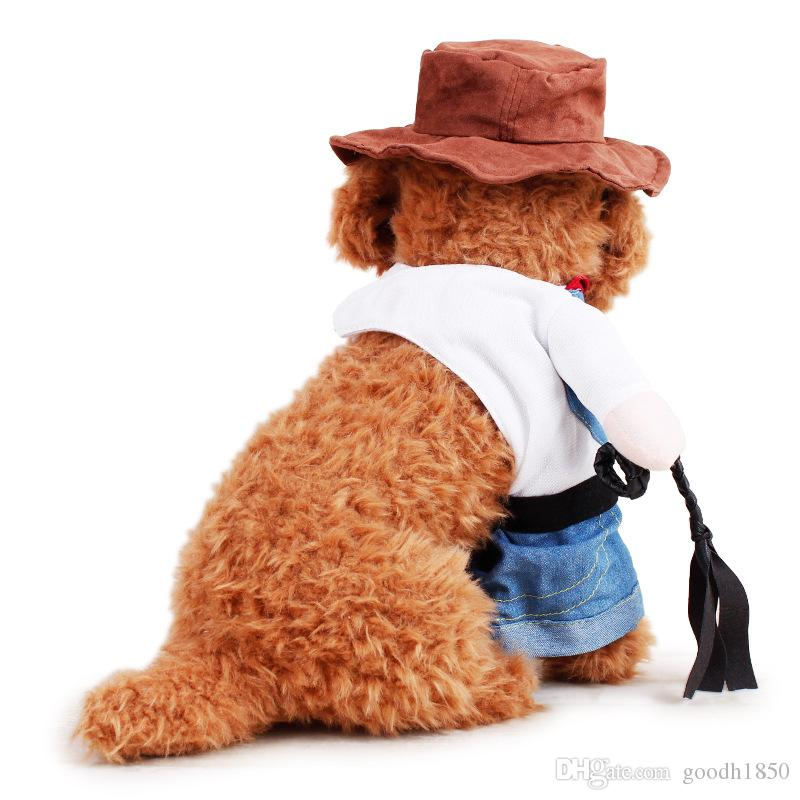 Fashion Dog apparel,nice two stand feet change body pets clothing,high quantity polyester materials pets wear