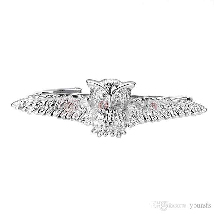 43b4f6c6ddc0 2019 Yoursfs Owl Tie Clips Men Silver Accessories Novelty Accessories Tie  Bar Clip From Yoursfs, $11.45 | DHgate.Com