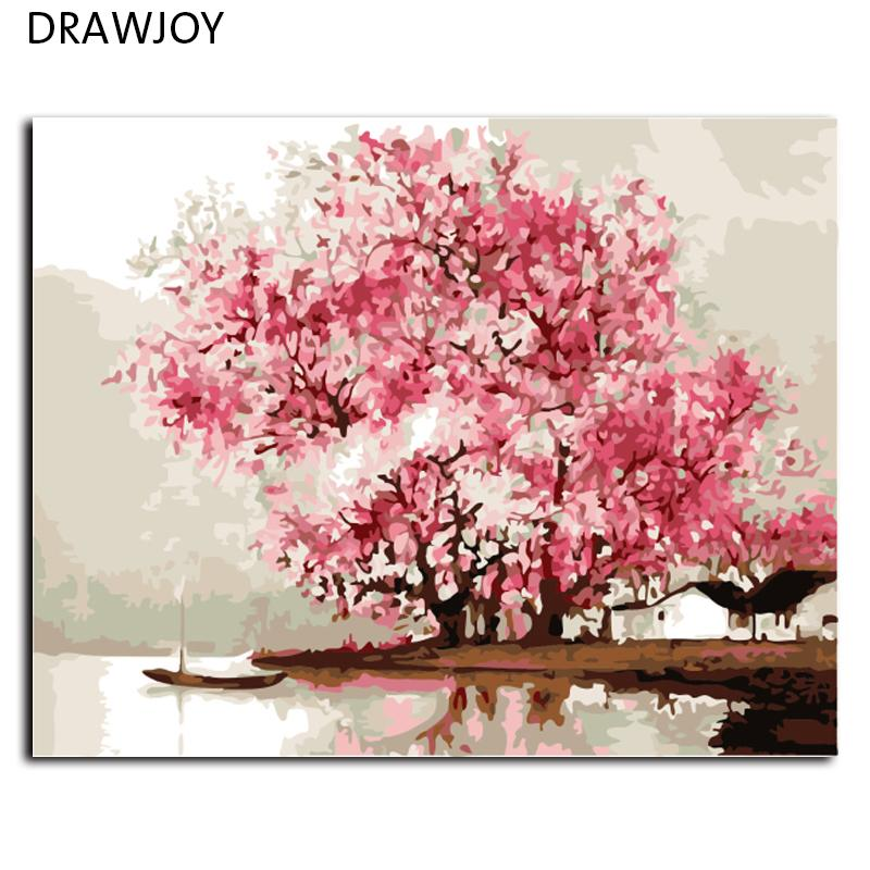 Wholesale-Hot Selling Frameless Wall Decor DIY Picture Painting By ...