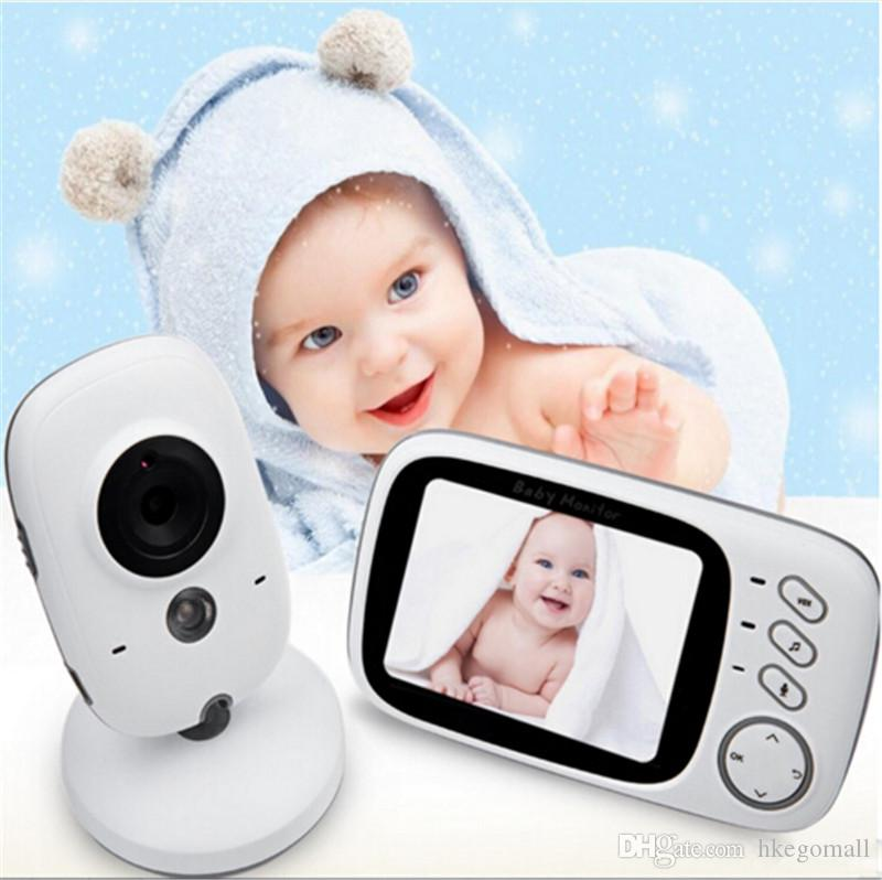 19851e7952c64 2019 Fimei 3.2 Inch Wireless Video Color Night Vision Baby Monitor Camera  Baby Sleep Nanny Security Video Camera Monitor LCD Moniter From Hkegomall