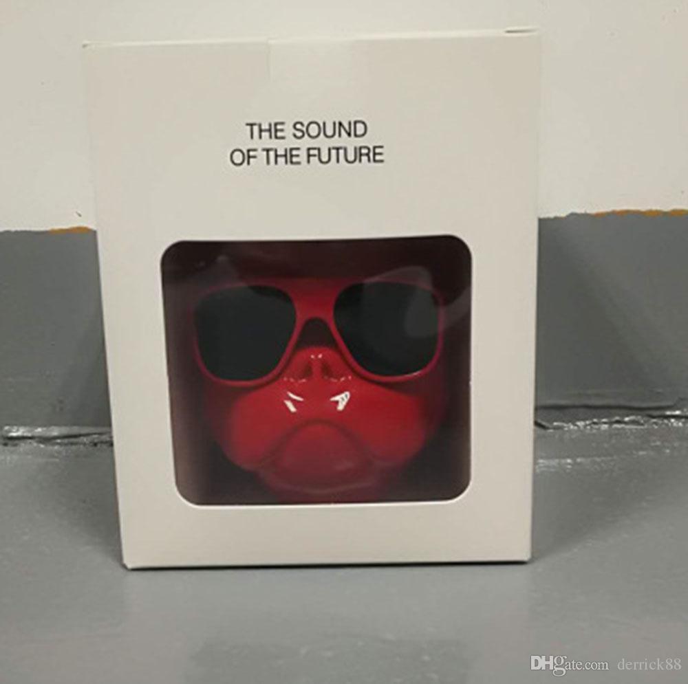 Altoparlante Bulldog Creative ad alta definizione più recente, Box audio Bluetooth portatile wireless, microfono incorporato, casella vocale inseribile TF