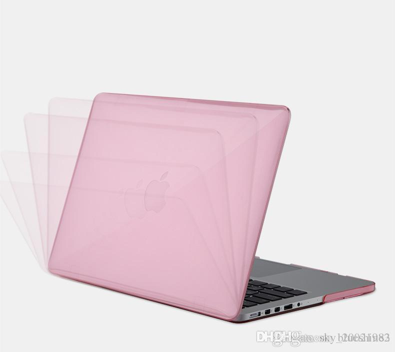 New Premium Ultra Thin Crystal Glossy Cover Clear Shield Hard Anti Scratch Case for Macbook 11 /12/13/15 inch Protective shell
