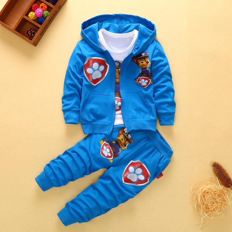 cd168875dfe38f 2019 2017 New Children Kids Boys Clothing Sets Autumn Winter Sets Hooded Coat  Suits Fall Cotton Baby Boys Coat+Pant Clothes Set From Friendhi, ...