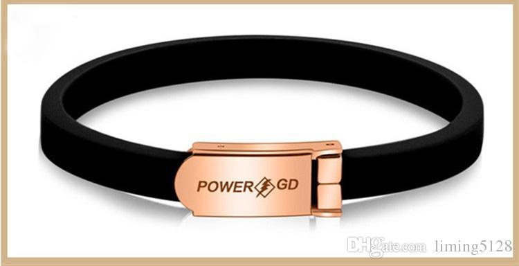 Negative Ionen Armband Energie Silikon Sport Armbänder