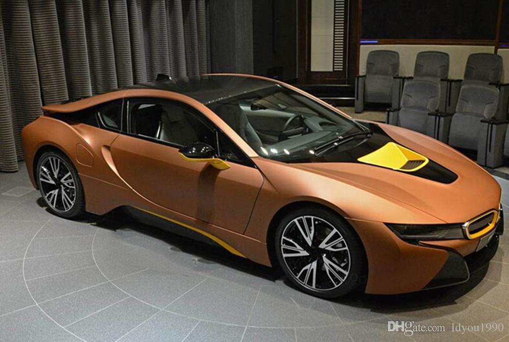 Autocollant autocollant en vinyle sarcelle, brun mat, chrome sarcelle