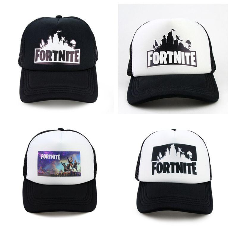 ff8ee70a60b1a Fortnite Trucker Cap Hat Game Fortnite Fans Cool Mesh Caps Summer ...