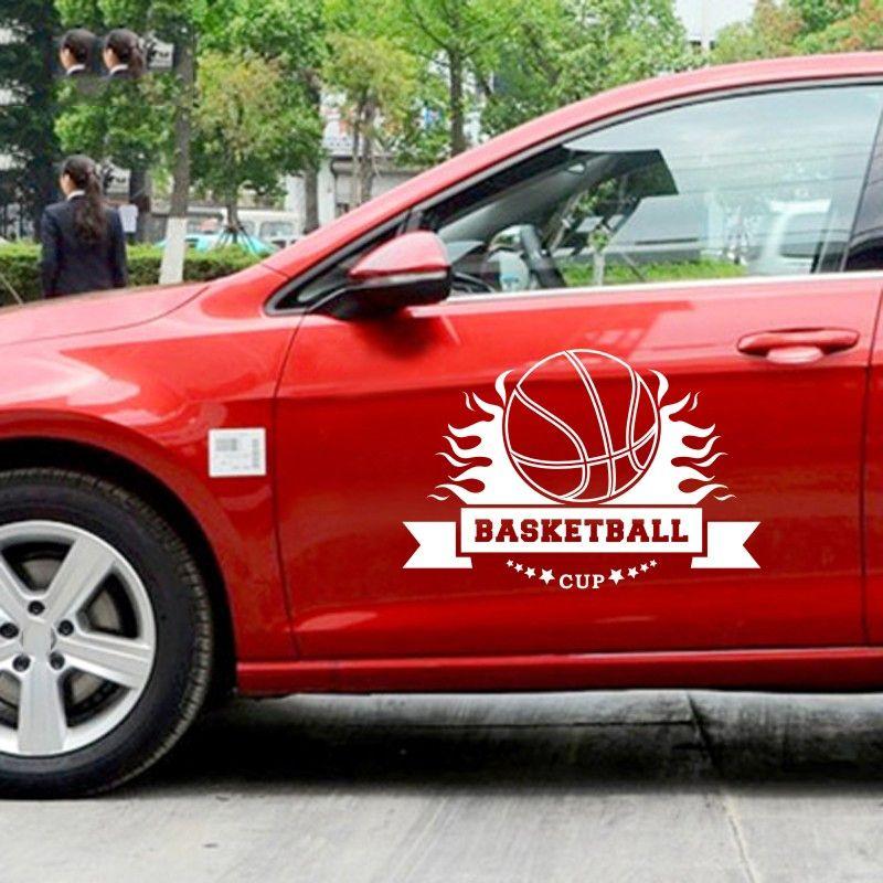 2019 39 58cm Basketball Sticker Sports Car Decal Helmets Kids Room