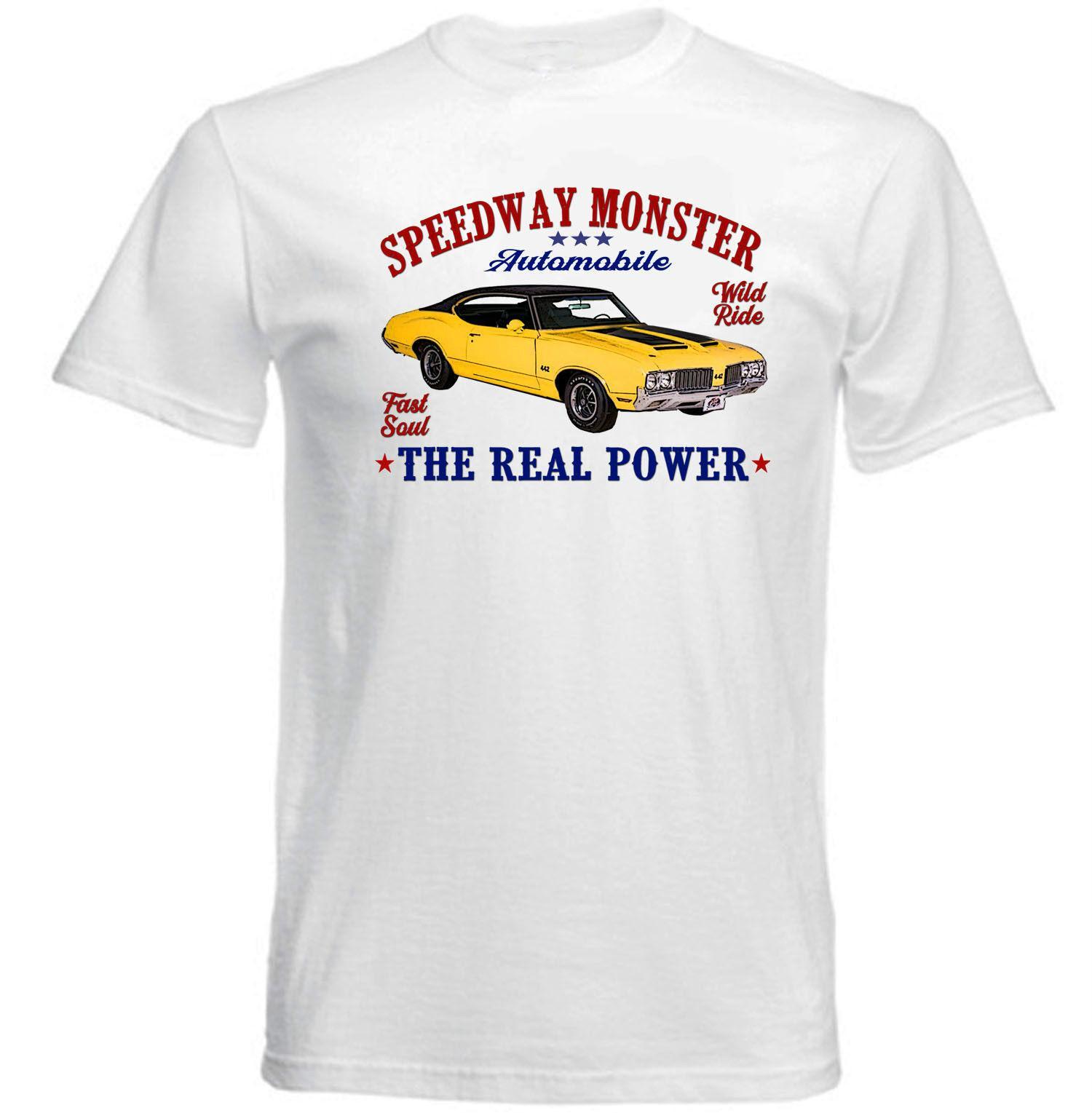e2dd2aeb5 VINTAGE AMERICAN CAR OLDSMOBILE 442 NEW COTTON T SHIRT Tees Custom Jersey T  Shirt Print On T Shirt Cheap Funny T Shirts From Qz1538381382, $16.24|  DHgate.