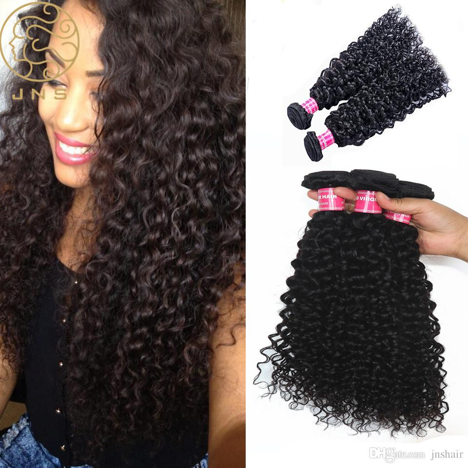 Cheap Virgin Indian Human Hair Weave Jerry Curly 100 Human Hair