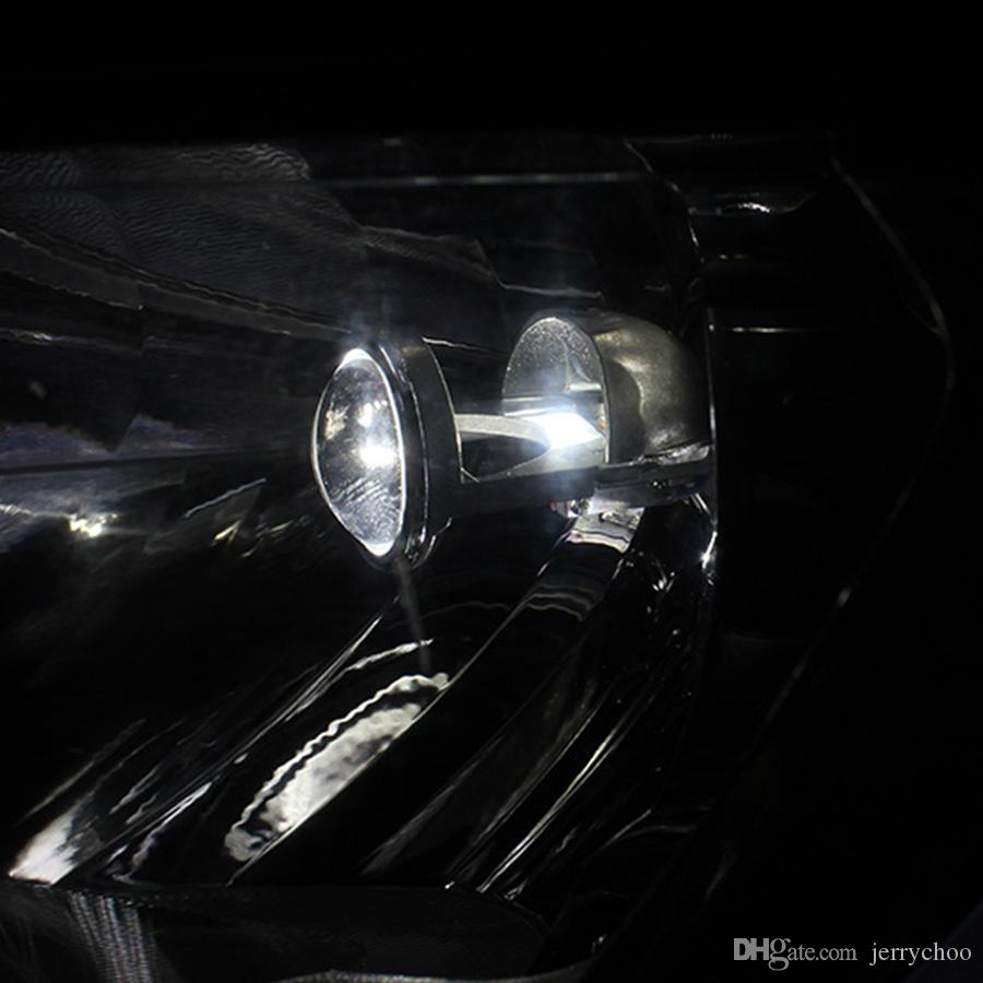 Phare superbe superbe de kit de conversion d'ampoules du H4 LED avec la mini lentille de projecteur pour la voiture SUV BUS 12V / 24V
