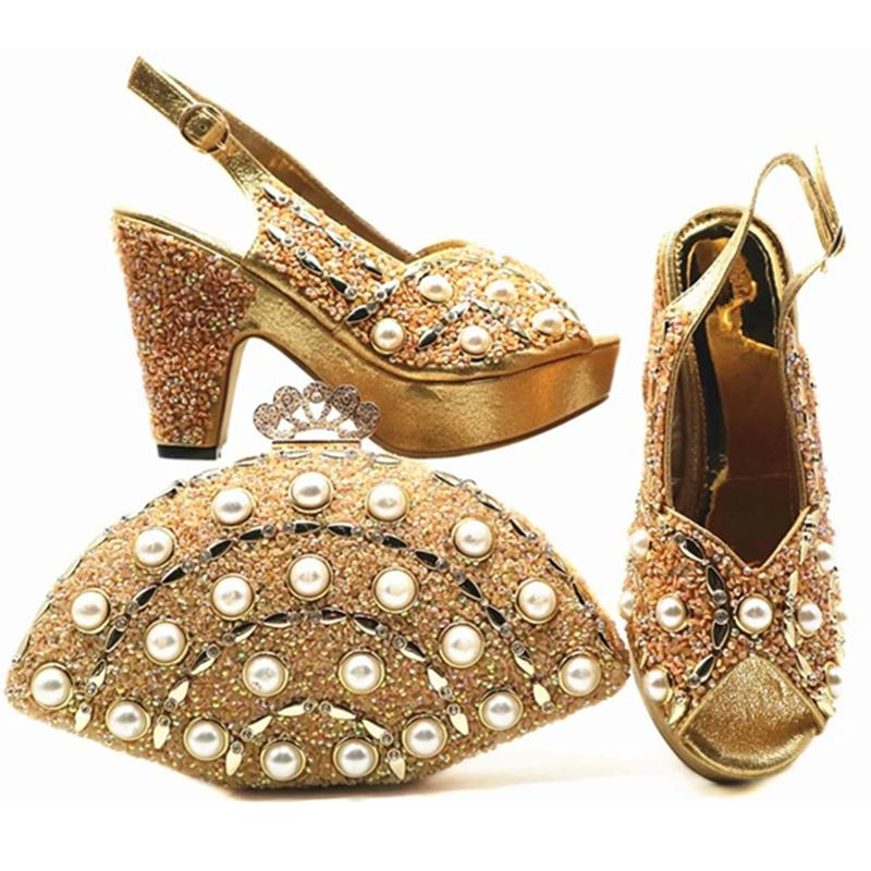 African Women Italian Shoes And Bag Set Decorated With Rhinestone Luxury Women  Shoes Nigerian Women Wedding Shoes Party Pumps Formal Shoes For Men Formal  ... 478d7338721a