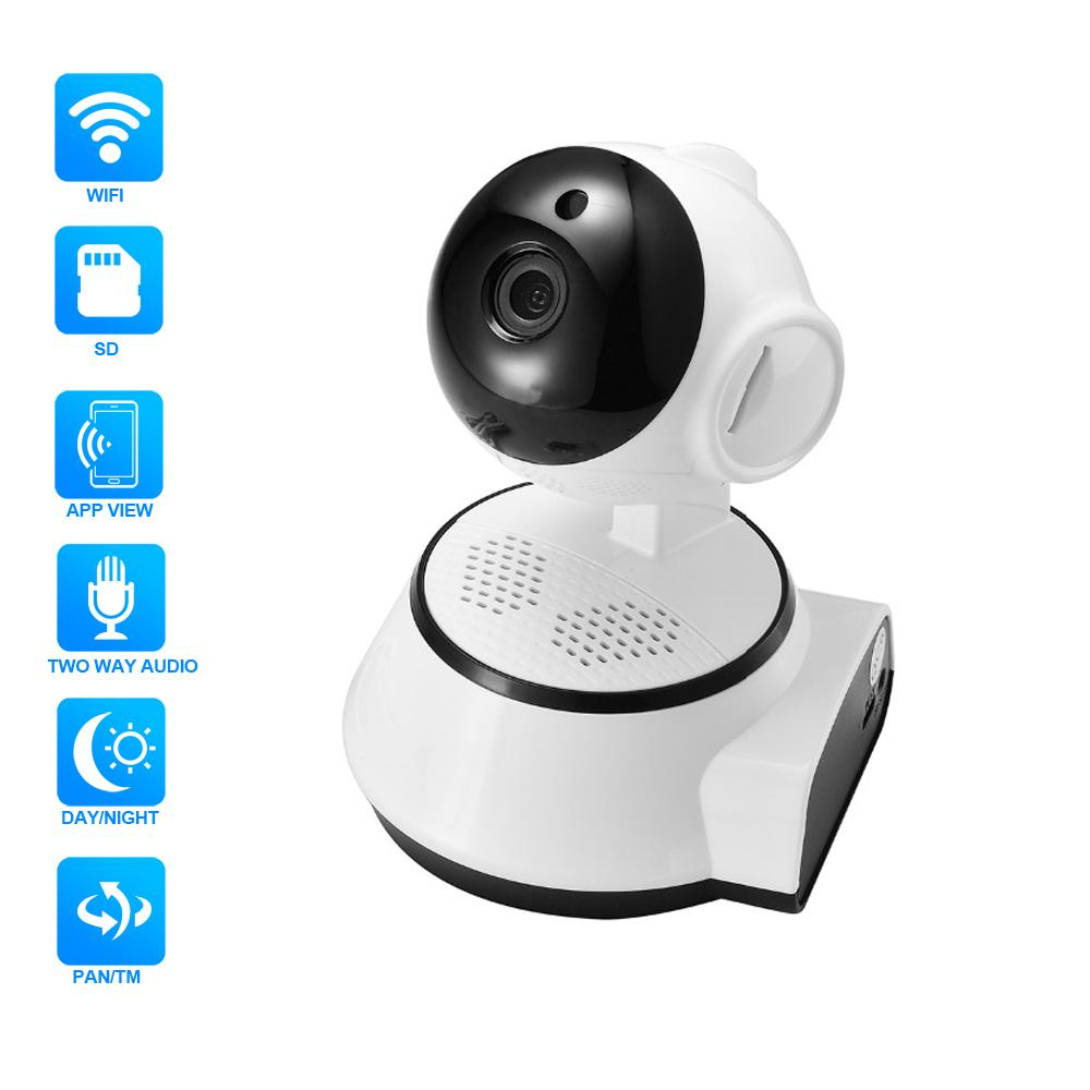 Hamrolte Baby Monitor 720P Wifi IP Camera Nightvision Two Way Audio Motion  Detection ICsee Remote Access Home Security Camera