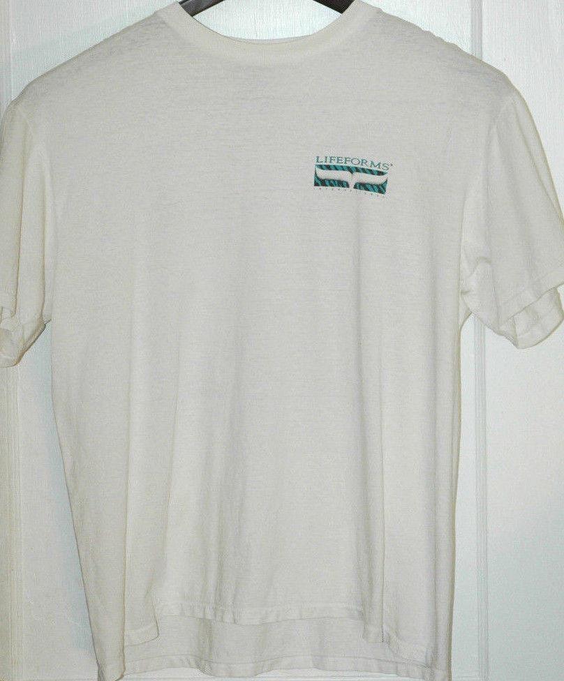 322b510ee Vtg LIFEFORMS PRIMAL ATTITUDE T Shirt RARE GRAPHIC TEE Retro 90's GORILLA