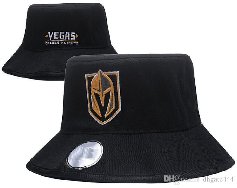 2019 Fashion Embroidery Vegas Golden Knights Cap Bucket Hats Fisherman Hat  Stingy Brim Buckets Hats Cotton Women Men Sun Cap Barrel Caps Hat From  Dhgate444 5b8460e140
