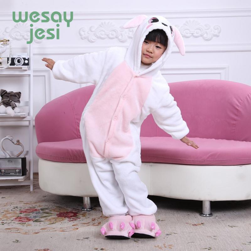 Winter Girl Boy Children'S Pajamas Unisex Baby Onesie Kids Pajama ...
