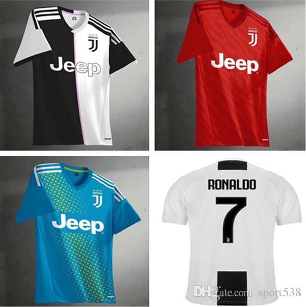 2019 2019 2020 RONALDO 7 JUVENTUS Home Soccer Jersey 18 19 JUVE Away DYBALA  BUFFON Camisetas Futbol Camisas Maillot Football Shirt From Sport538 117918a8194b1