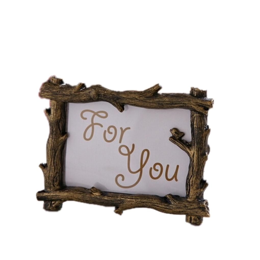 Branches Photo Frame Retro Photo Frame for Wedding Party Family Home ...