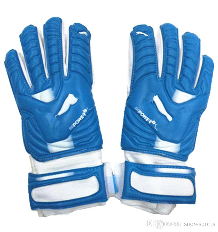 Adult Men Women 4MM Latex Soccer Gloves Goalkeeper Gloves with Finger  Protector Training Football Gloves Blue Goalie Gloves Red Goalkeeper Gloves  Soccer ... 42290a209