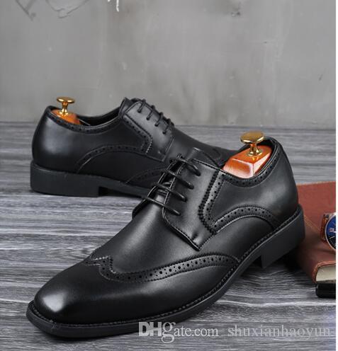 info for 69c78 cbadd plus Größe 39-48 Männer Hochzeit Schuhe Mikrofaser Leder für Mann Kleid  Schuhe Herren Oxford Wohnungen formale Business-Schuh