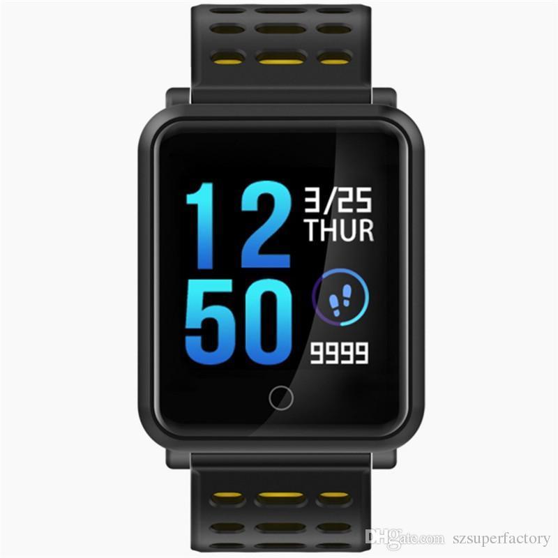 f9dfc3ab3b8d Mejores Marcas De Relojes N88 Reloj Inteligente Hombres Smartwatch Mujeres  Impermeable Monitor De Presión Arterial De Ritmo Cardíaco Deporte Pulsera  Fitness ...