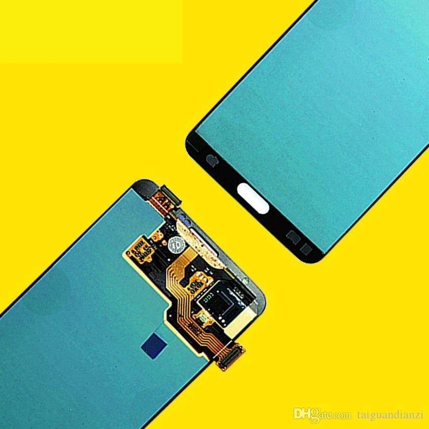 ORIGINAL 5.7 '' SUPER AMOLED para SAMSUNG Galaxy Note3 Pantalla táctil Nota 3 N9005 Piezas de repuesto del ensamblaje del digitalizador LCD