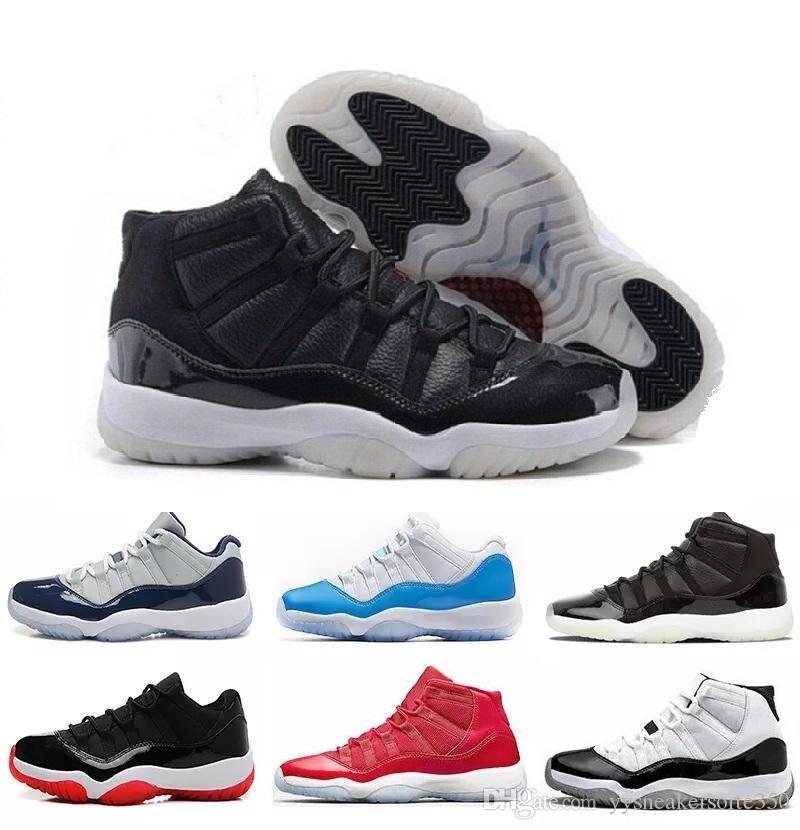 on sale b6568 9c850 Großhandel Nike Air Jordan 11 Aj11 Retro Cap Und Kleid 11 Prom Night  Platinum Tint 11s Xi Turnhalle Red Bred Prm Heiress Männer Frauen  Basketball Schuhe ...