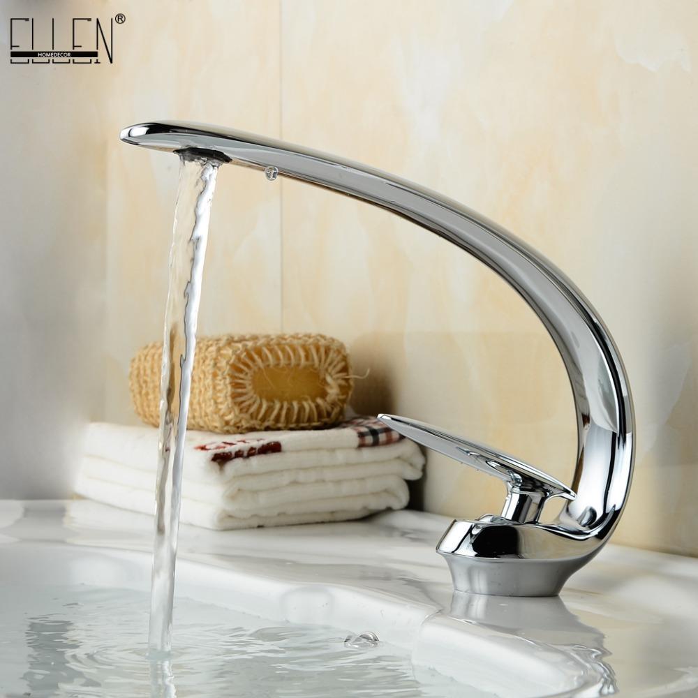 2018 Copper Bathroom Basin Sink Faucet Single Handle Bathroom Mixers ...