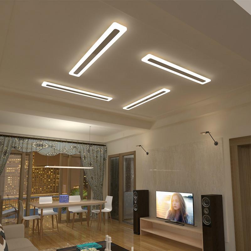 Grosshandel Acryl Flur Fuhrte Deckenleuchten Fur Wohnzimmer Plafond