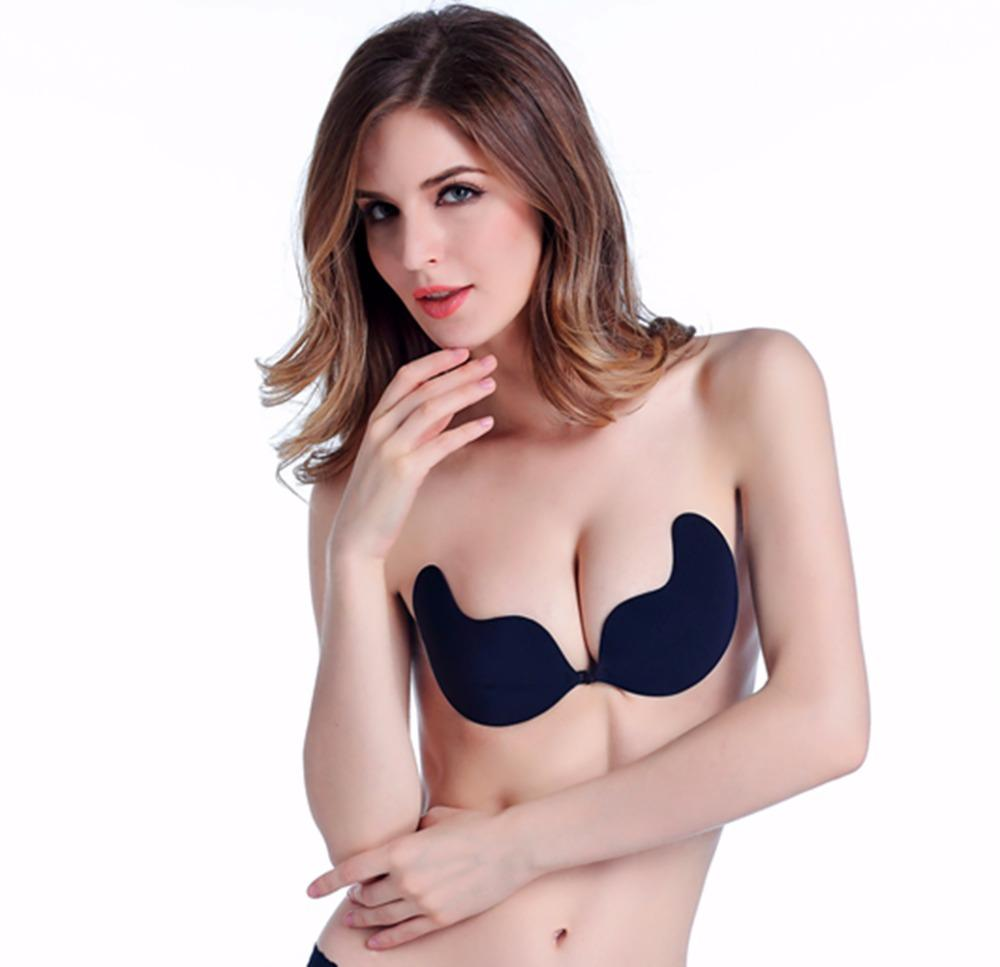 87c3283236 2019 Invisible Bra Hot Top New Fashion Strapless Push Up Bra Angel Wings  Mango Shape Underwear Sexy Women Gel Invisible Bras From Liuyangfuzhuang