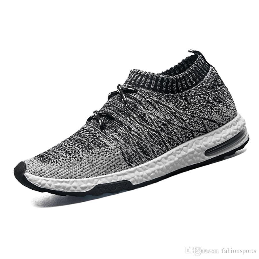 Männer Sommer Schuhe Männer Fly-strick Designer Kausalen Schuhe für Mann Sneaker Größe 39-44 Männlichen Mode Socke Schuhe