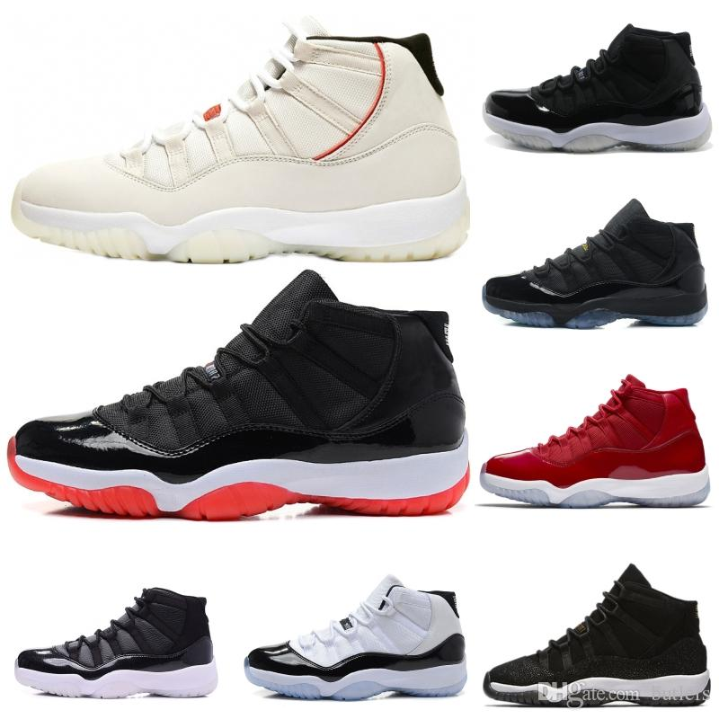 626e7f1d2eb New Cheap 11 XI Midnight Navy Blue Gym Red Win Like 96 Mens Basketball Shoes  Chicago Bred UNC 11s Men Women Sport Sneakers Basketball Shoe Men Shoes  Running ...