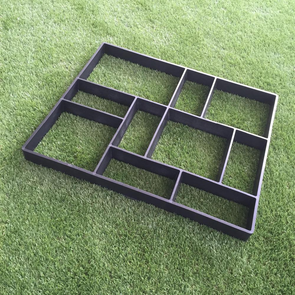 2019 Rectangle Garden Paving Plastic Mold For Garden