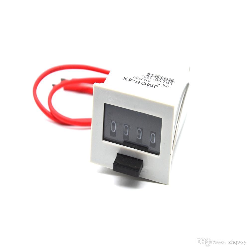 Механический счетчик JMCF-4х/220В/электрический счетчик машинами
