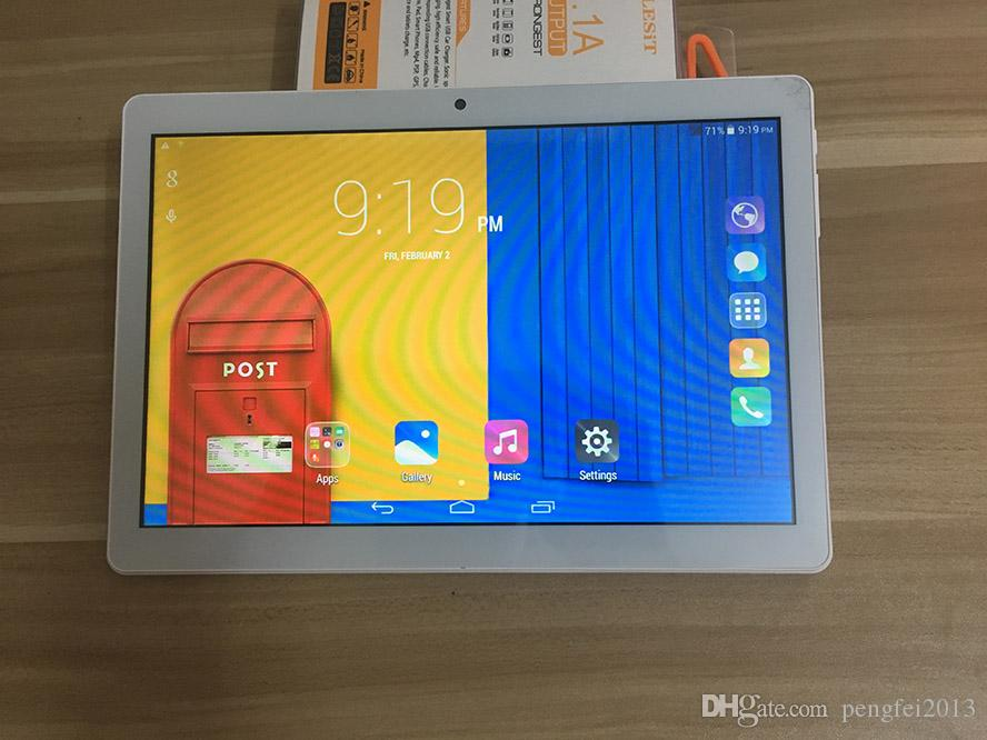 DHL Tablet PC 10.1 Inch MTK6580 Quad Core 3G phone Android4.4.2 Tablet 1GB Ram 16GB Rom IPS Screen wifi Bluetooth