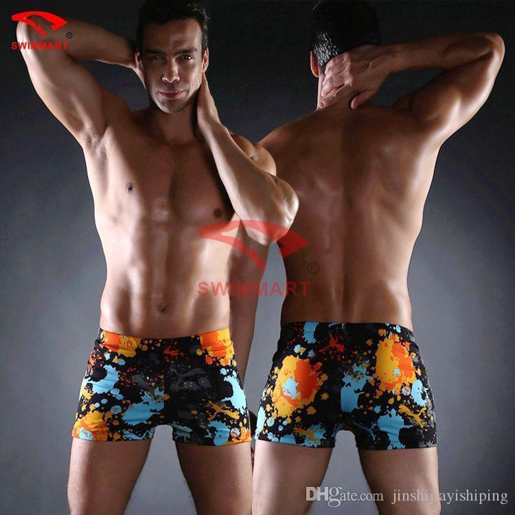 4949a3137928d 2019 Men'S Shorts Camouflage Trouse Underpants Swimwear Push Up Man  Swimsuit Low Waist Sexy Swim Sport Beach Male Swimming Trunks From  Jinshijiayishiping, ...