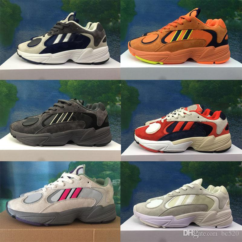 sneakers for cheap c5711 ed2f8 Acquista Adidas Originals YEEZY 700 2018 Dragon Ball Z X YUNG 1 OG GoKu  Uomo Donna Scarpe Da Corsa Orange Scarpe Da Corsa Sport Sneakers Kanye 700  West Con ...