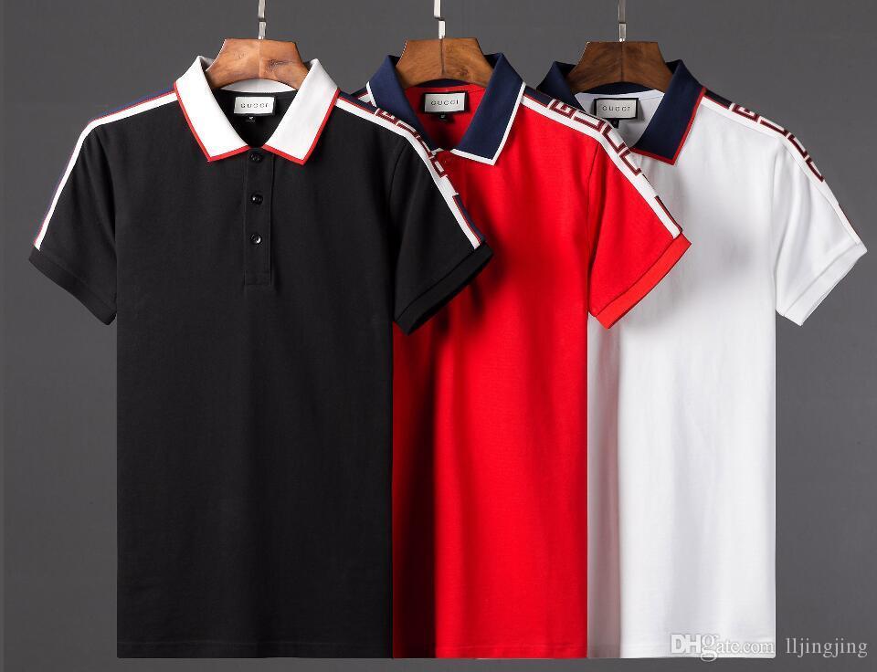 ... Algodão Itália Verão Marca De Luxo Polo Cci Curto Lobo T Shirt Dos  Homens E Mulheres Curto Todos Os Jogo Casual Homens T Camisa Curta De  Lljingjing 0c4bd885cc072