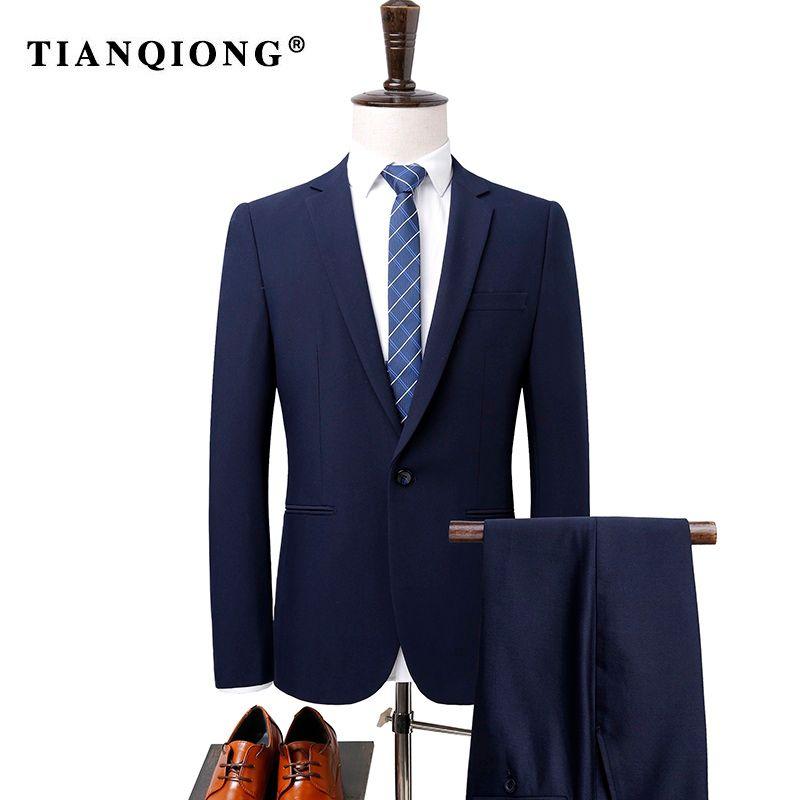 Hochzeit Tian Formale Männer Fit De Trajes Hombre Anzug Tunika Party Anzüge PantsHerren Slim Bräutigam Business Qiongjacke Kleid f6gIY7ybv