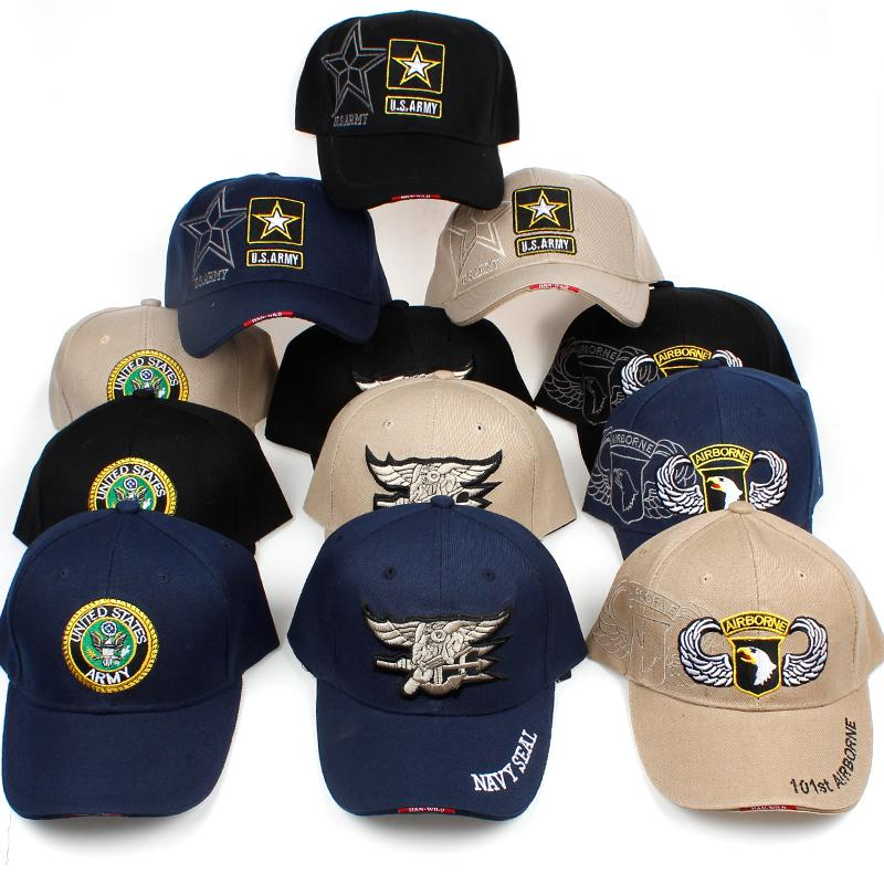 20c76dc18da Newest US Air Force Army Mens Sports Tactical Baseball Cap High Quality  Navy Seal Adjustable Camo Snapback Hats Army Hats Custom Caps From ...