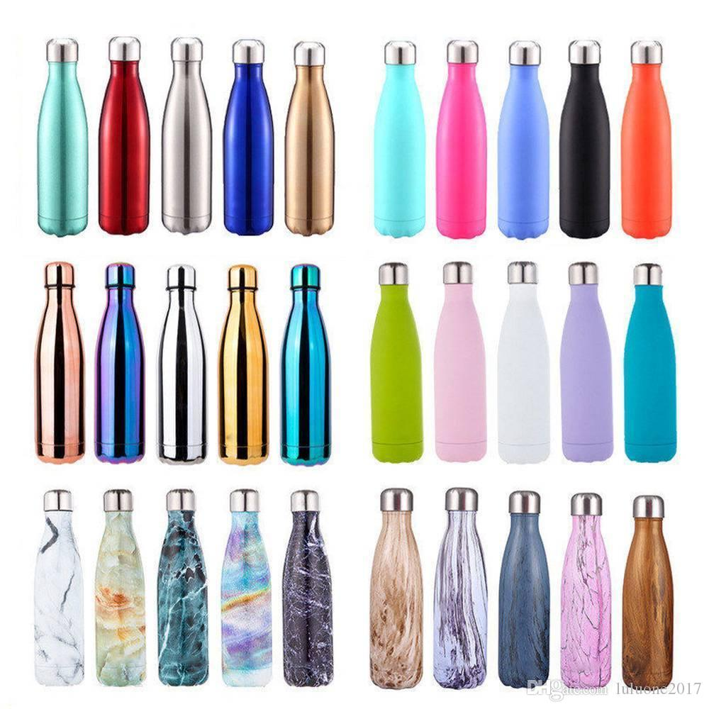 2019 500ml Water Bottle Vacuum Insulated Flask Thermal