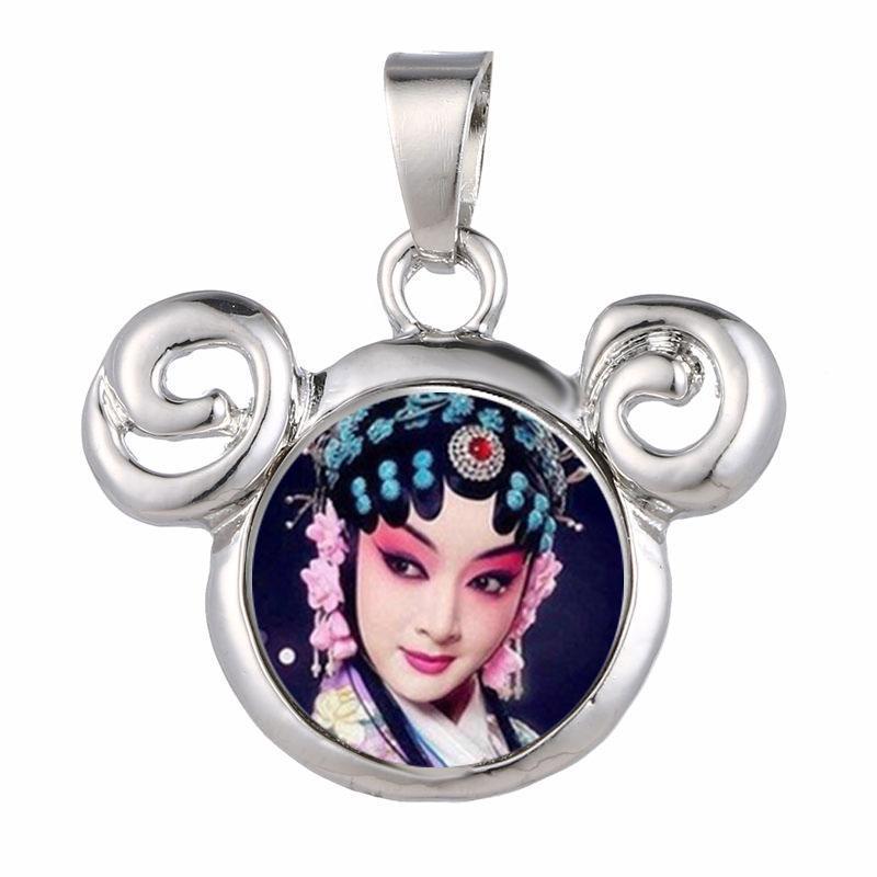 dye sublimation necklaces pendants fashion zircon necklace pendant for women heat transfer diy consumables include necklace wholesales