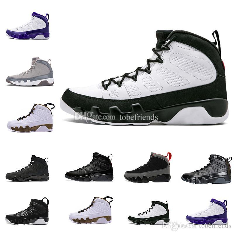 085de0d5589703 New Mop Melo Bred 9 LA Men Basketball Shoes Black White Grey Space ...